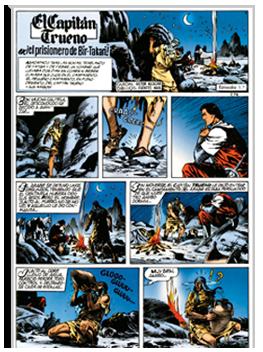 historieta El Capitan Trueno