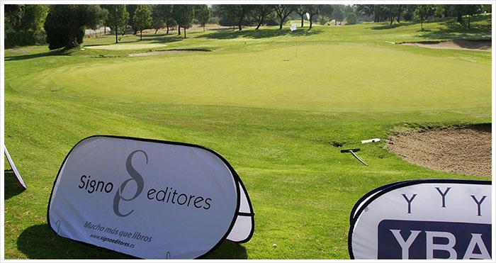 Torneo solidario de golf del Santander