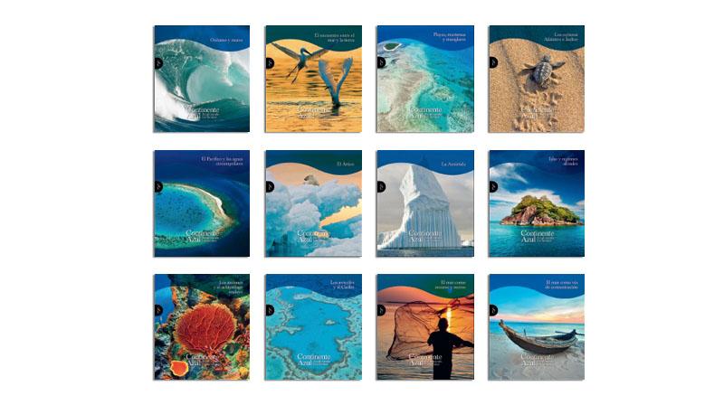 Continente Azul colección