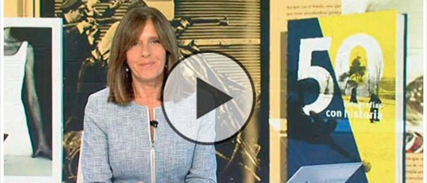 '50 fotografías con historia', en el telediario de TVE
