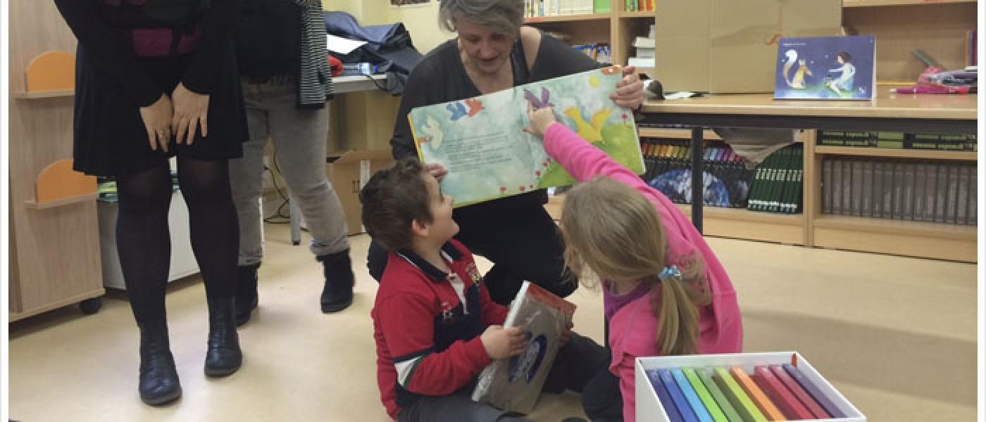 Entrega de 4.500 euros para la rehabilitación de dos niños