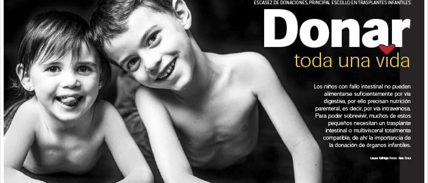 Las historias de los niños de NUPA en la revista Perfiles