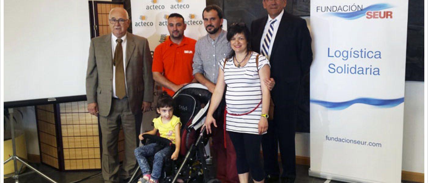 Recaudados más de 4.000 euros para un andador para Vera