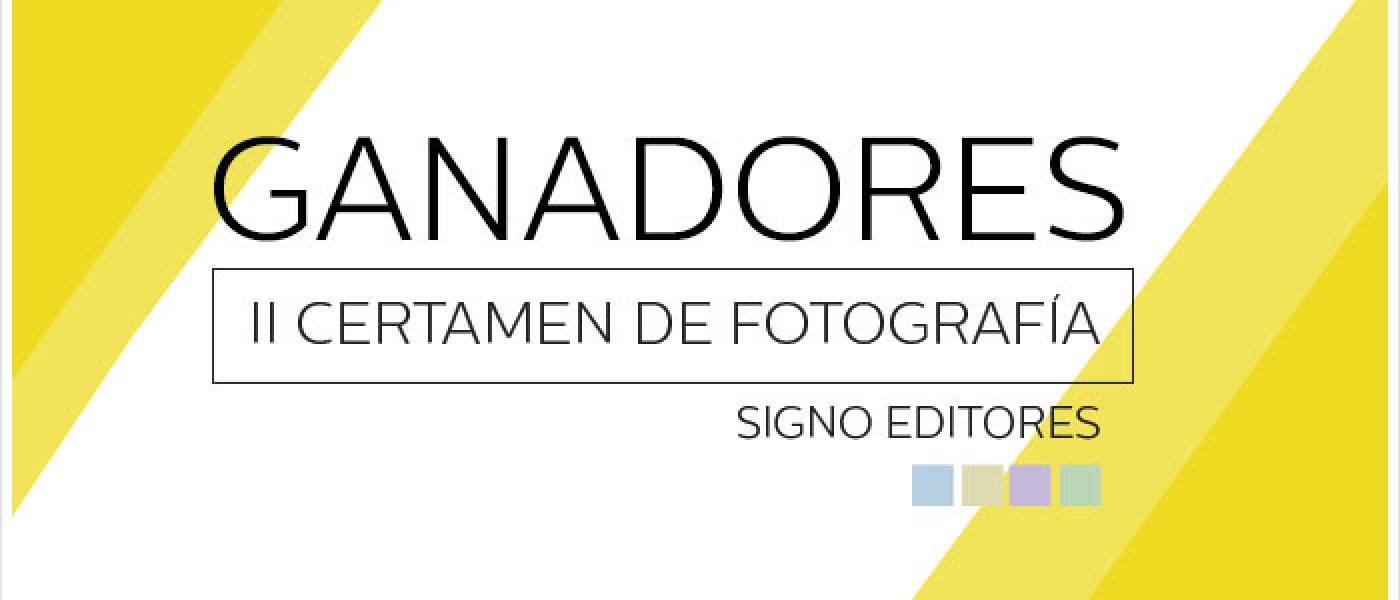 Ganadores del II Certamen de Fotografía Signo editores