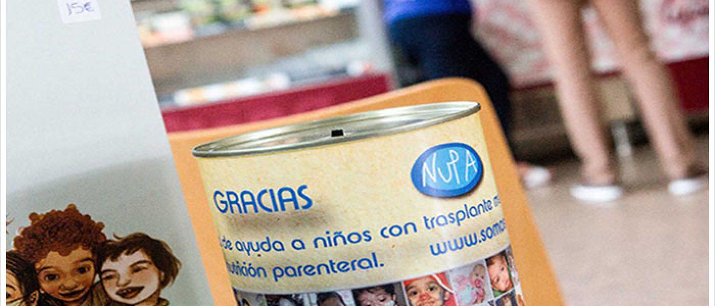 Las artesanías de NUPA triunfan en el rastrillo solidario