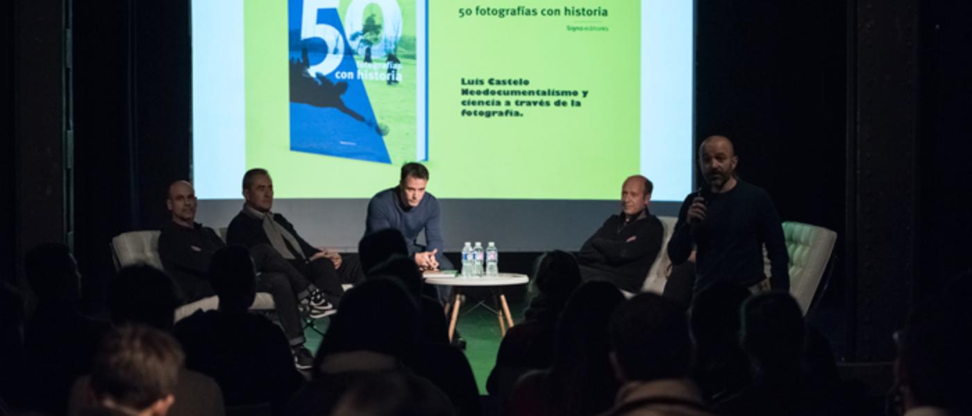 Escuela TAI acoge la presentación de 50 fotografías con historia junto a Luis Castelo