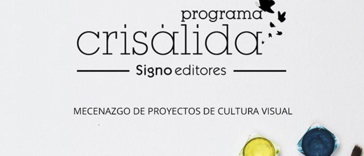 Signo editores apoya la cultura visual con el Programa Crisálida