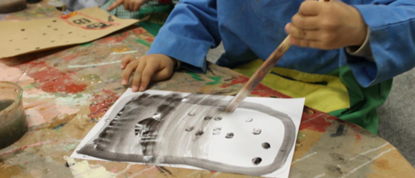El arte de los niños, segundo proyecto seleccionado en el Programa Crisálida