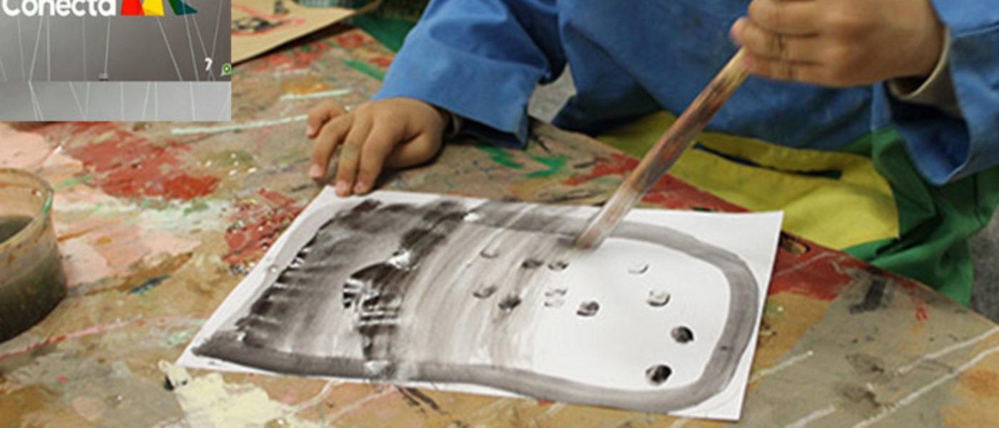 El taller 'El arte de los niños', seleccionado por el Programa Crisálida, en Murcia Conecta